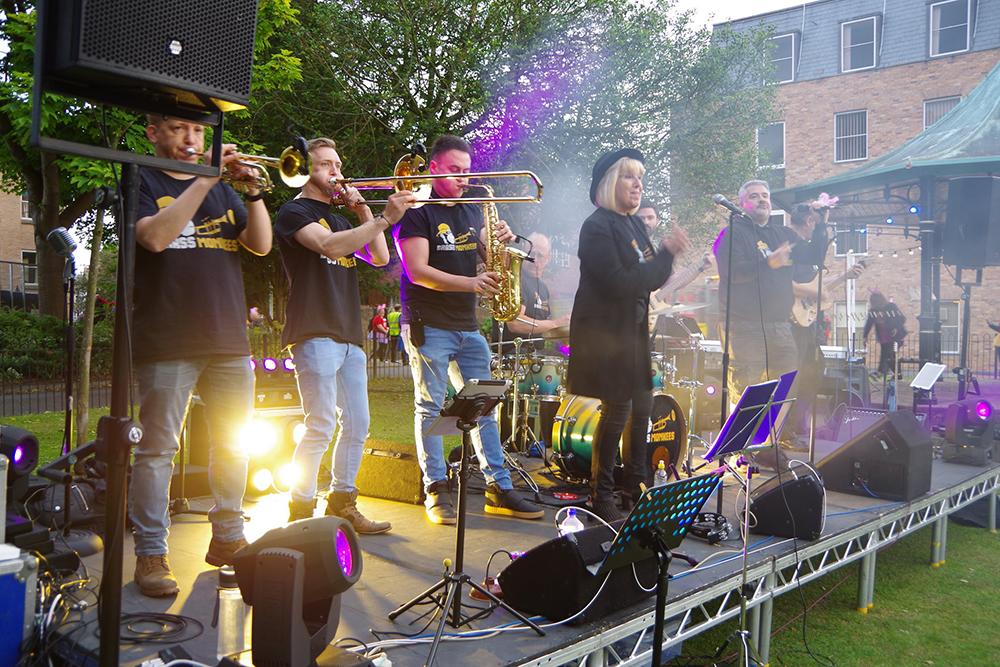 Brass Monkees Function Band Wrexham