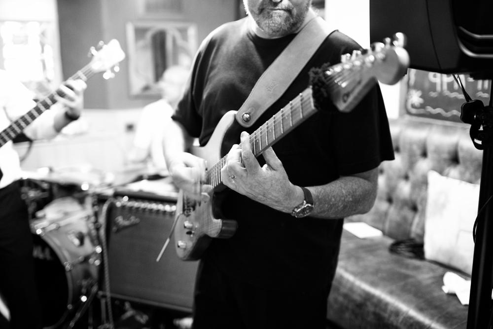 Brass Monkees Wedding Band Guitar