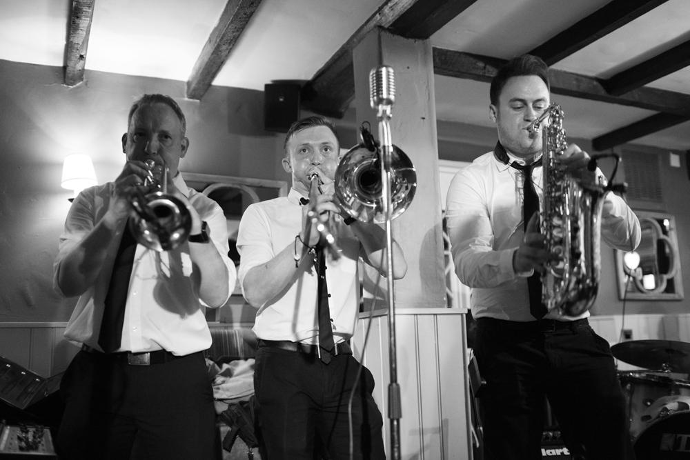 Brass Monkees Wedding Band Brass Section 2