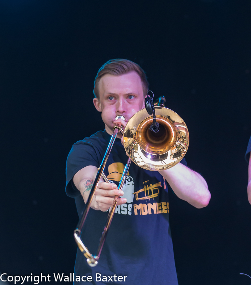 Brass Monkees Nantwich Jazz Festival 2018 Trombone