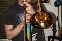 Brass Monkees Recording Studio Trombone Recording