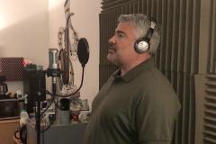 Brass Monkees Recording Studio Singer Recording 1