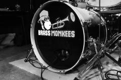 Brass Monkees Bass Drum