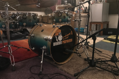 Brass Monkees Recording Studio Bass Drum