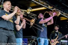 Brass Monkees Nantwich Jazz Festival 2018 Brass Section 2