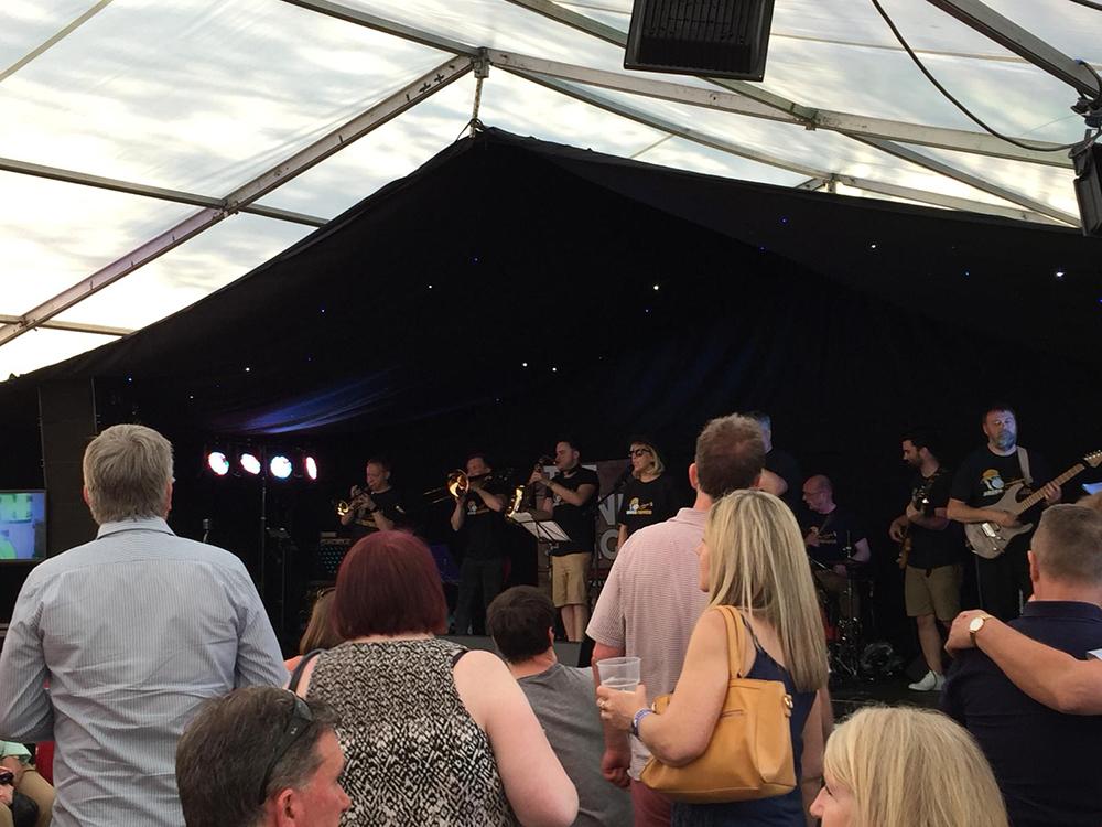 Brass Monkees Nantwich Jazz Festival 2019 16