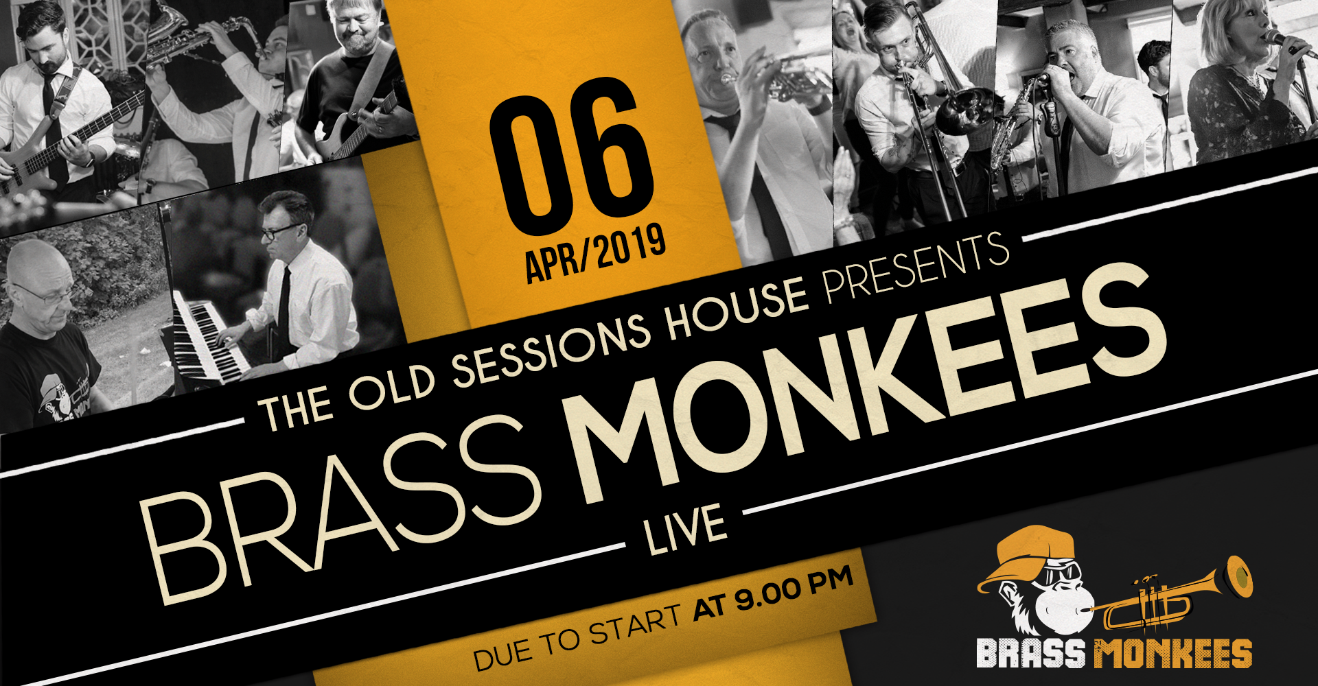 Brass Monkees LIVE at The Old Sessions House