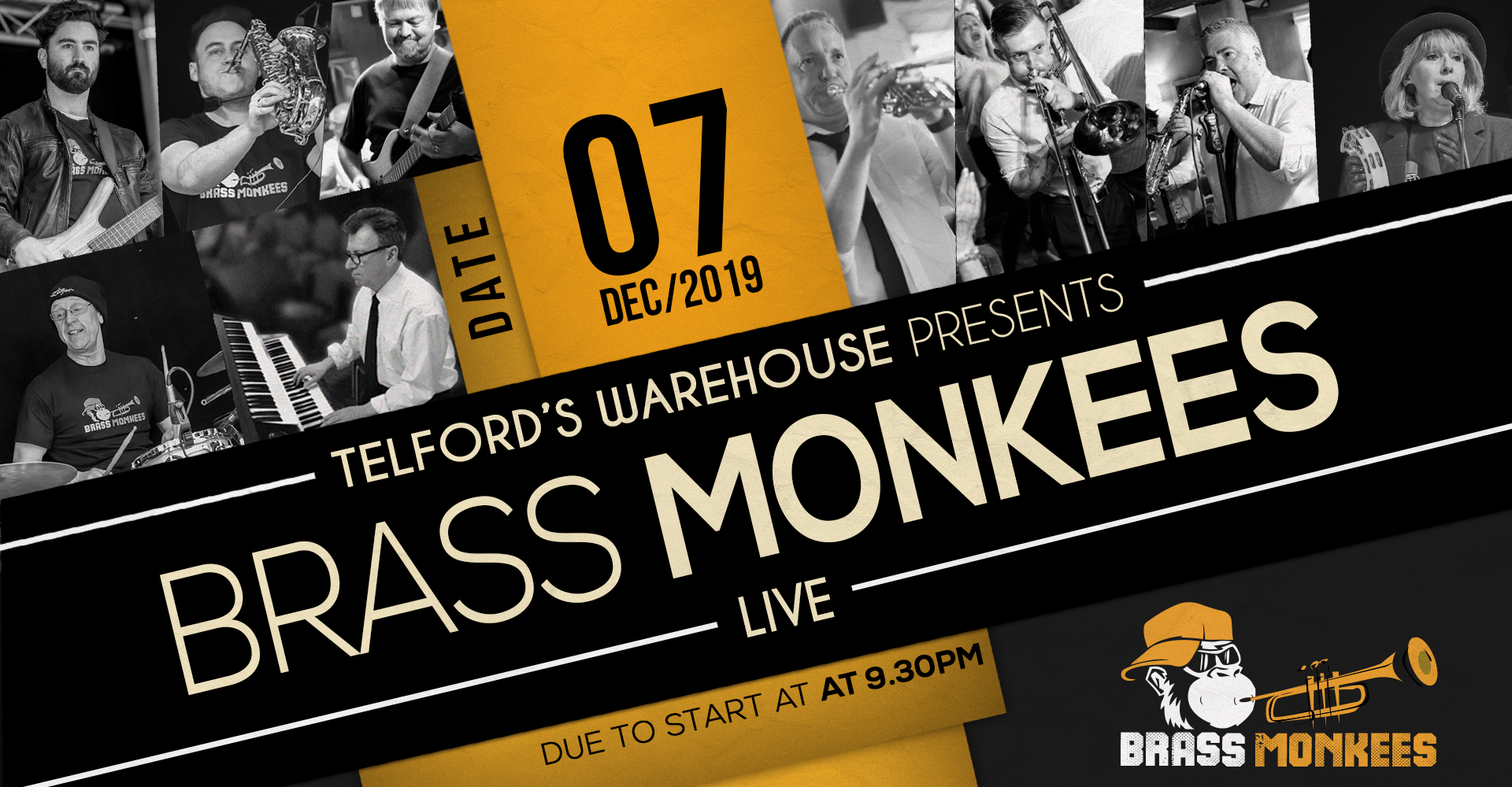 Brass Monkees at Telford's Warehouse